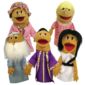 Junior People Puppets